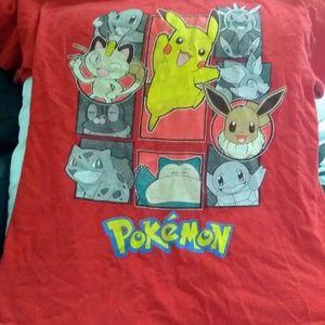 Red Pokemon T-shirt